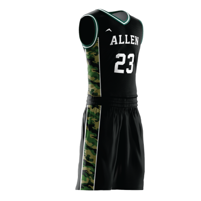 Custom basketball uniform PRO 262 side view