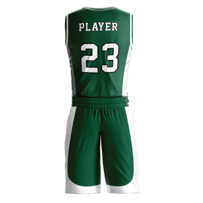 Custom basketball uniform PRO 263 back view