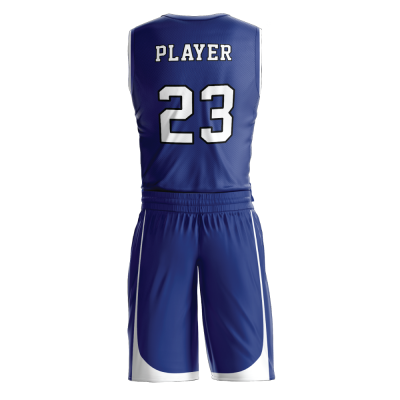 BASKETBALL UNIFORM PRO 266 BACK