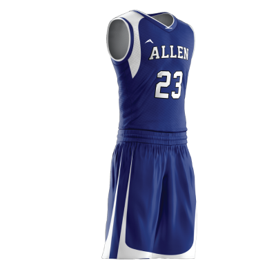 Custom basketball uniform PRO 266 side view
