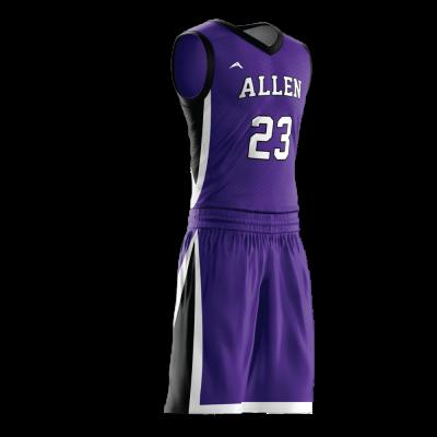 Custom basketball uniform PRO 267 side view