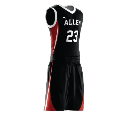 Custom basketball uniform PRO 268 side view