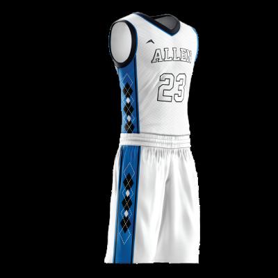 Custom basketball uniform PRO 269 side view
