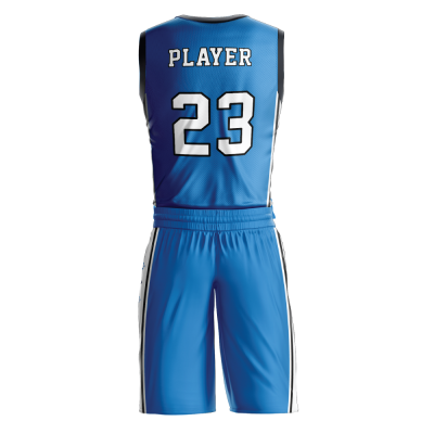 Custom basketball uniform PRO 270 back view