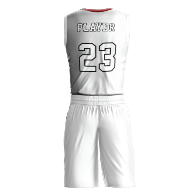 Custom basketball uniform PRO 272 back view