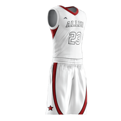 BASKETBALL UNIFORM PRO 272 SIDE