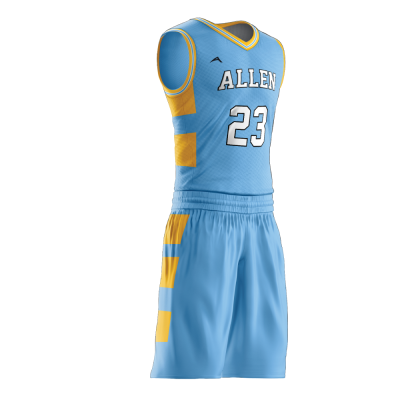 Custom basketball uniform PRO 273 side view