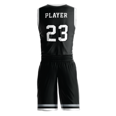 Custom basketball uniform PRO 278 back view