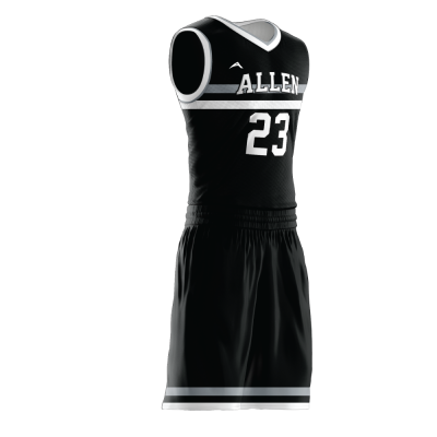 Custom basketball uniform PRO 278 side view