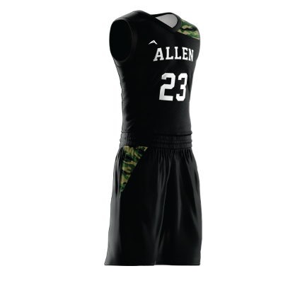 Custom basketball uniform PRO 279 side view