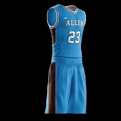 Custom basketball uniform PRO 280 side view