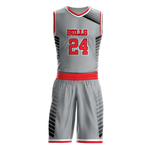 Image for Basketball Uniform Sublimated Bulls