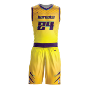 Image for Basketball Uniform Sublimated Hornets
