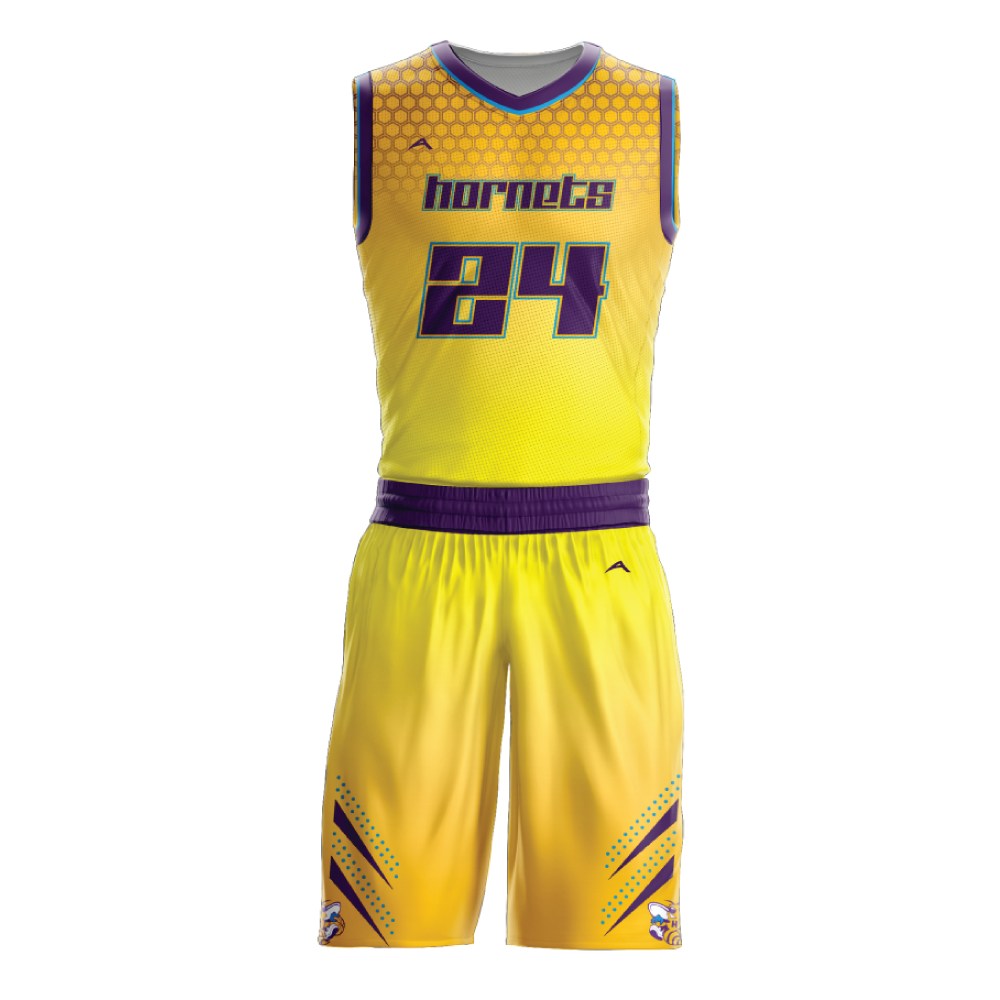 Basketball Uniform Sublimated Hornets Allen Sportswear