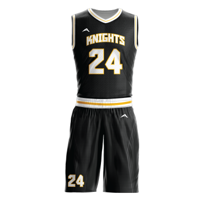 Custom basketball uniform sublimated KNIGHTS