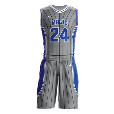 Custom basketball uniform sublimated MAGIC