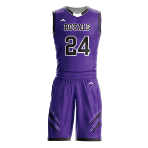 Image for Basketball Uniform Sublimated Royals