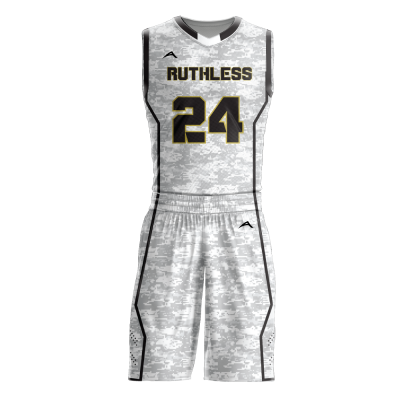 BASKETBALL UNIFORM SUBLIMATED RUTHLESS