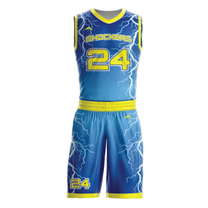 Image for Basketball Uniform Sublimated Storm