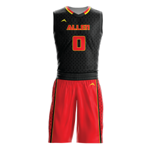 Image for Basketball Uniform Sublimated Triad
