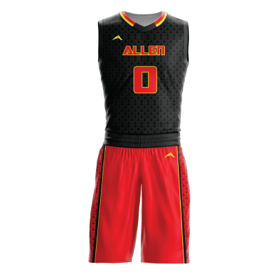 Custom basketball uniform sublimated TRIAD