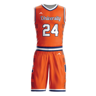 Custom basketball uniform sublimated UNIVERSITY