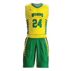 Image for Basketball Uniform Sublimated Wizard