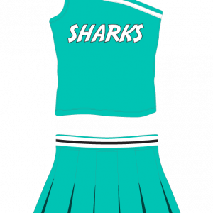 Image for Cheerleading Uniform Pro Sharks