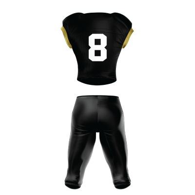 Custom Sublimated Football Uniform 508 back view