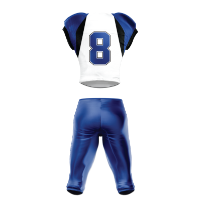 Custom Sublimated Football Uniform 509 back view