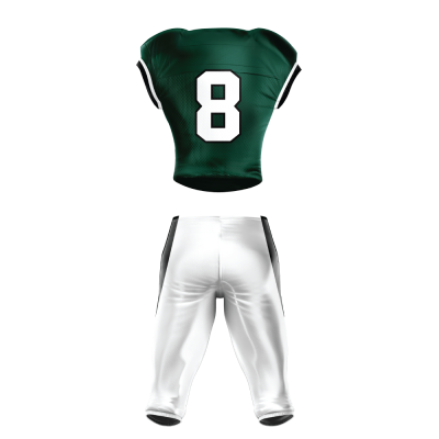 Custom Sublimated Football Uniform 510 back view