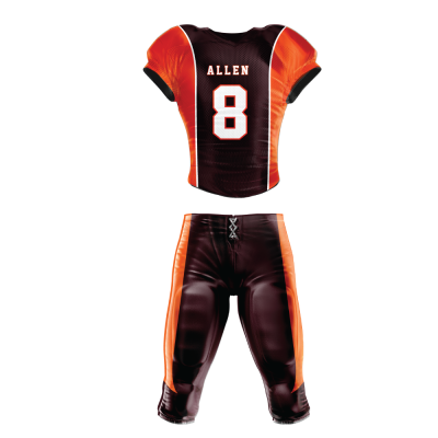 Custom Sublimated Football Uniform 511