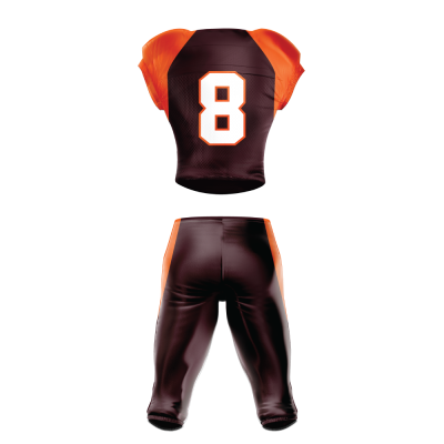 FOOTBALL UNIFORM SUBLIMATED 511 BACK