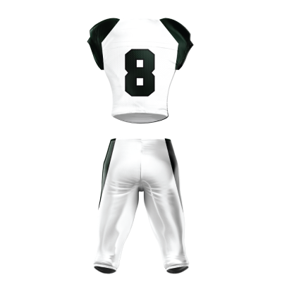 Custom Sublimated Football Uniform 512 back view