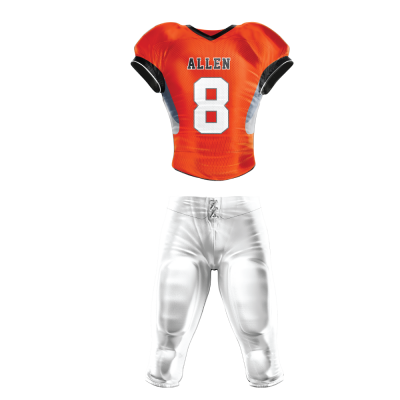 Custom Football Uniform Pro Tackle Twill or Sewn On 215