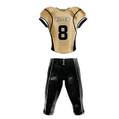 Custom Football Uniform Pro Tackle Twill or Sewn On 218