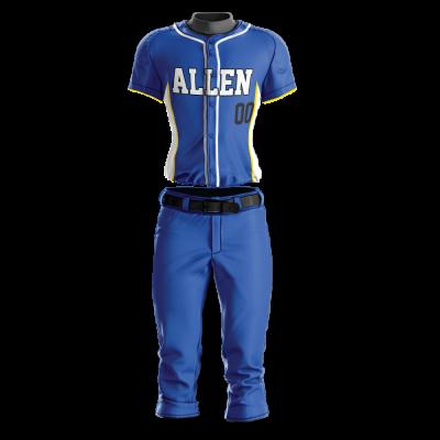 Custom Softball Uniform Pro Tackle Twill or Sewn On 228