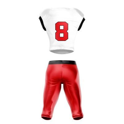 football uniform sublimated 200 Back
