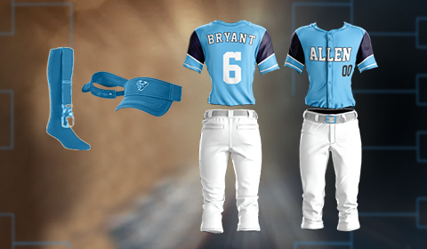 ALL STAR SOFTBALL UNIFORM PACKAGE- $94